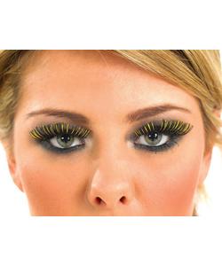 Black and Gold Eyelashes